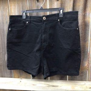 NWOT | Forever 21 | Black Shorts | Plus-Size